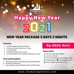 New Year Package 3days 2nights