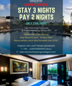 Stay 3 Nights Pay 2 Nights